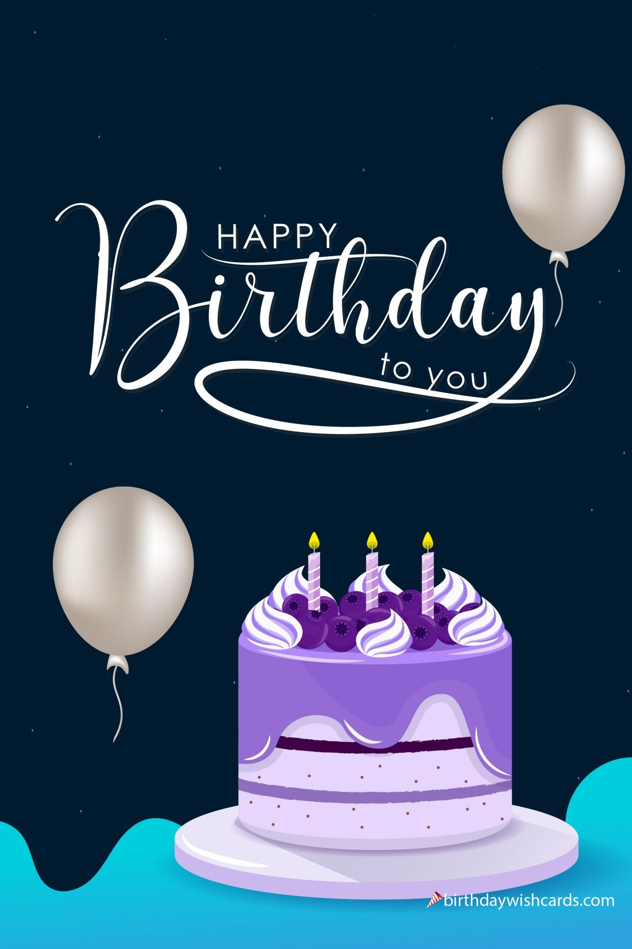 Happy Birthday To You Image For Daughter Birthday Wish Cards Happy Birthday Cupcakes Happy Birthday To You Free Happy Birthday Cards