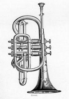 Trompeta Clip Art Vintage Musical Instruments Instruments