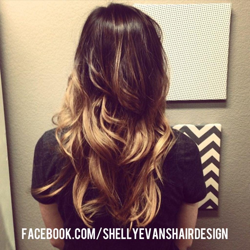 ombr shelly evans hair design