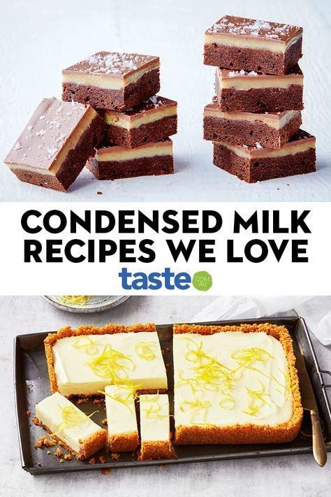 Condensed Milk Recipes That Make Everything Instantly Okay In 2020 Condensed Milk Recipes Desserts Milk Recipes Sweetened Condensed Milk Recipes