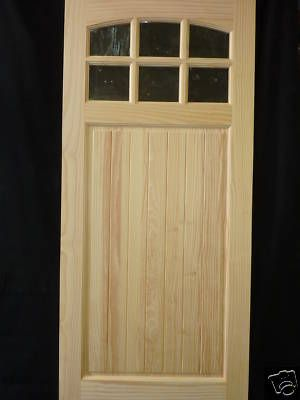 New 6 Lite Entry Doors