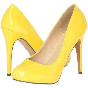 Michael Antonio Love Me (Yellow Patent) High Heels