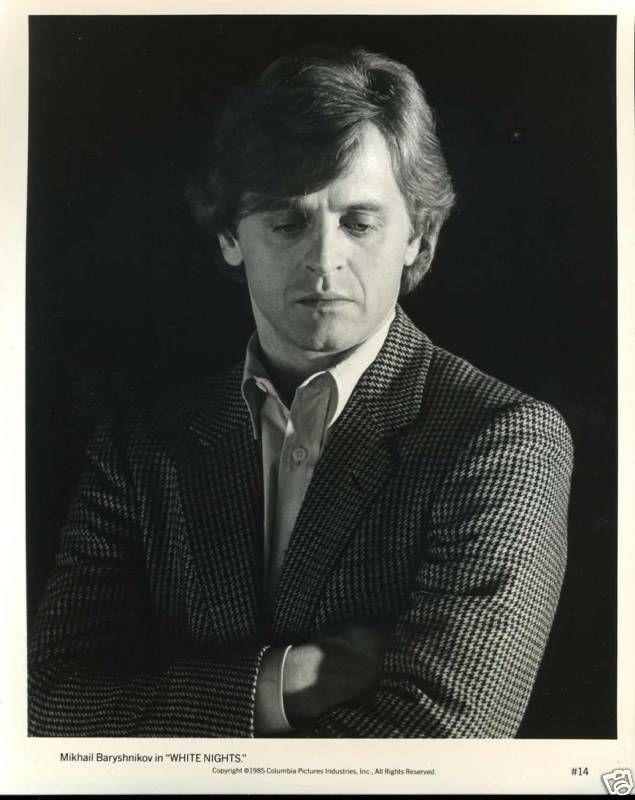 Mikhail Baryshnikov in 'White Nights' (1985)   Mikhail