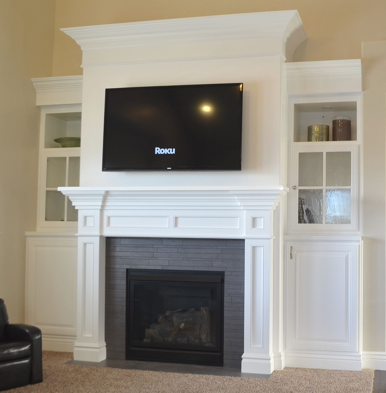 How to Build Your Own Fireplace Mantel Home fireplace