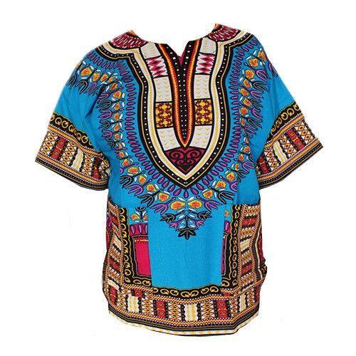 409f2628db Dashiki New African Clothing Traditional Print Tops Fashion Design African  Bazin Riche