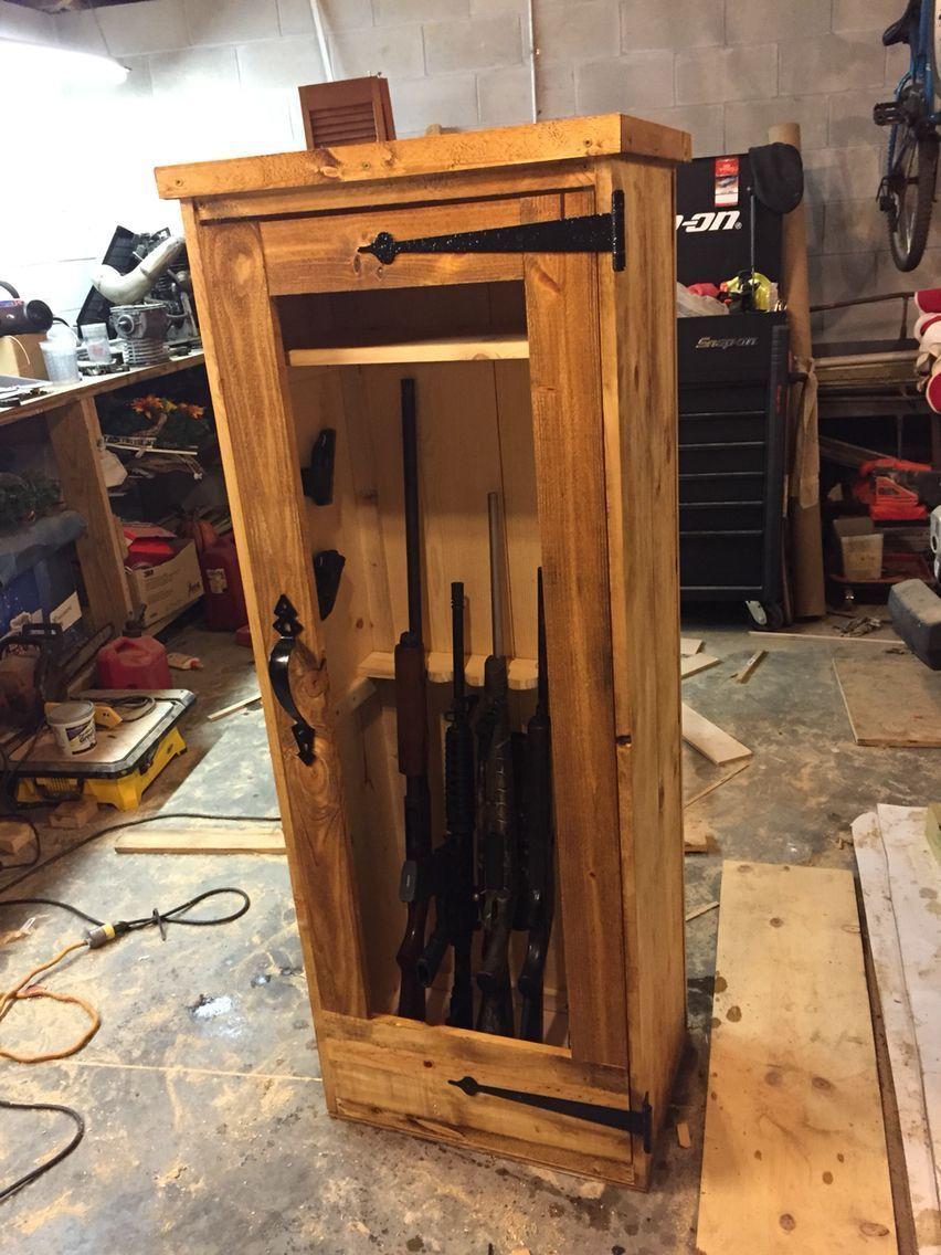 Gun finished