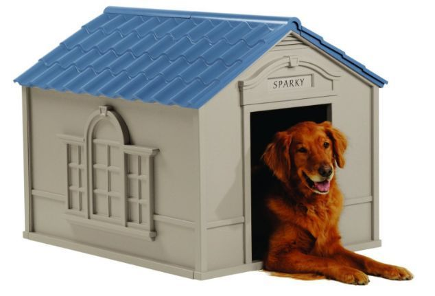 XXL Dog Kennel For X-Large Dogs Outdoor Pet Big Shelter Large Insulated Houses  #Suncast