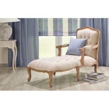 Chaise Lounge French long chair, 71x132x100cm - Shop Landhaus Look ...