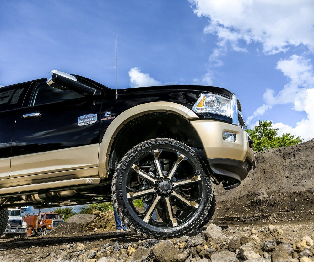 Show Your Horns With This Ram On Tuff Wheels Wheels And Tires Truck Wheels 26 Inch Rims
