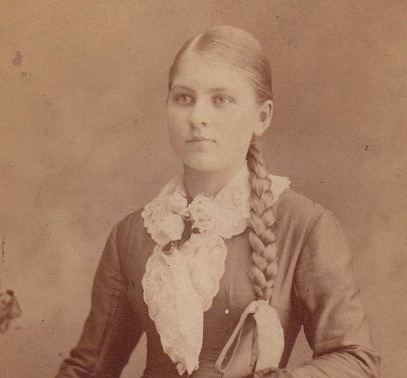 Long blond braided hair victorian woman 1800s by ephemeraobscura long blond braided hair victorian woman 1800s by ephemeraobscura ccuart Image collections