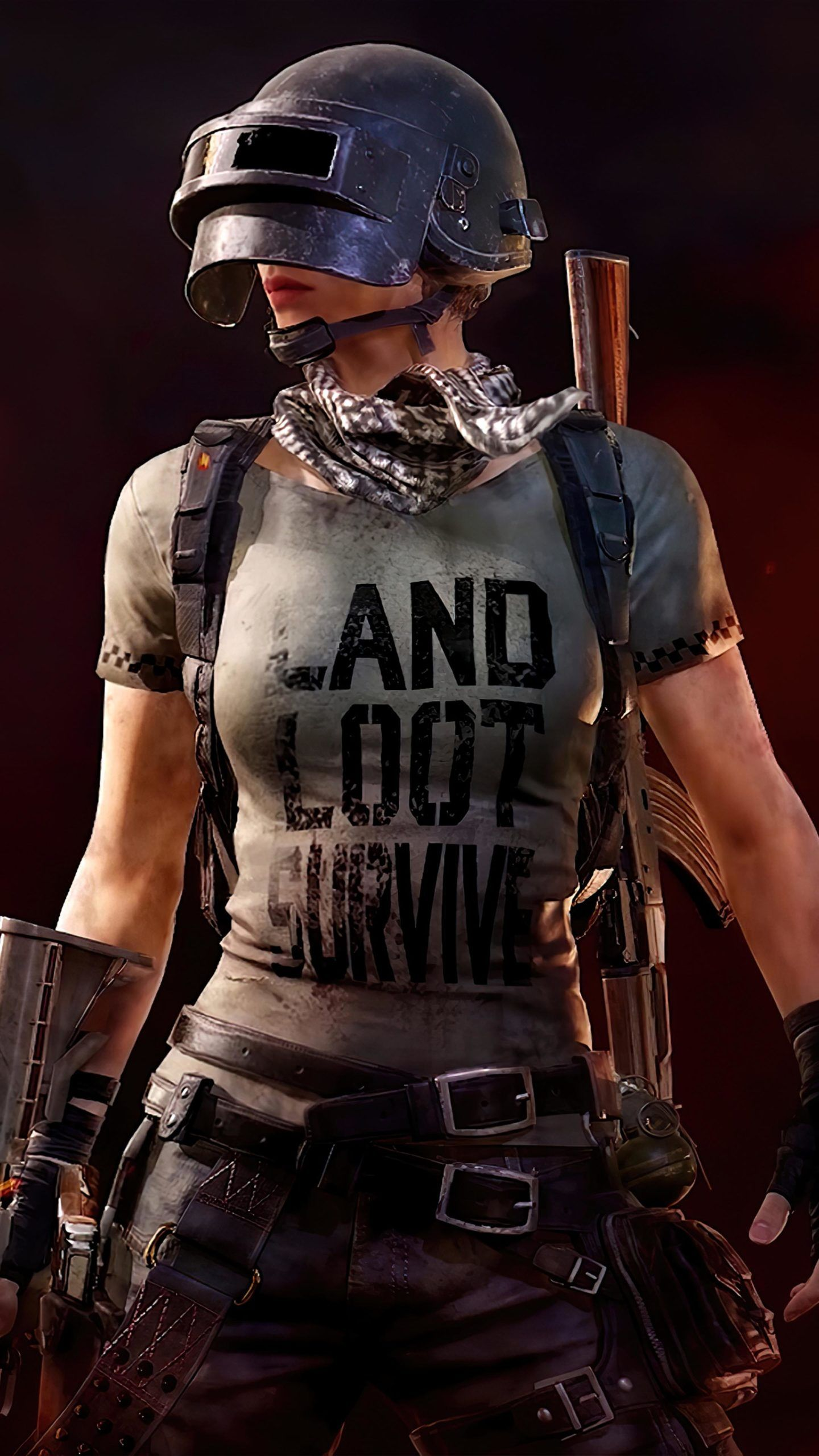 PUBG Girl Land Loot Survive in 2020 Loot, Survival, Game