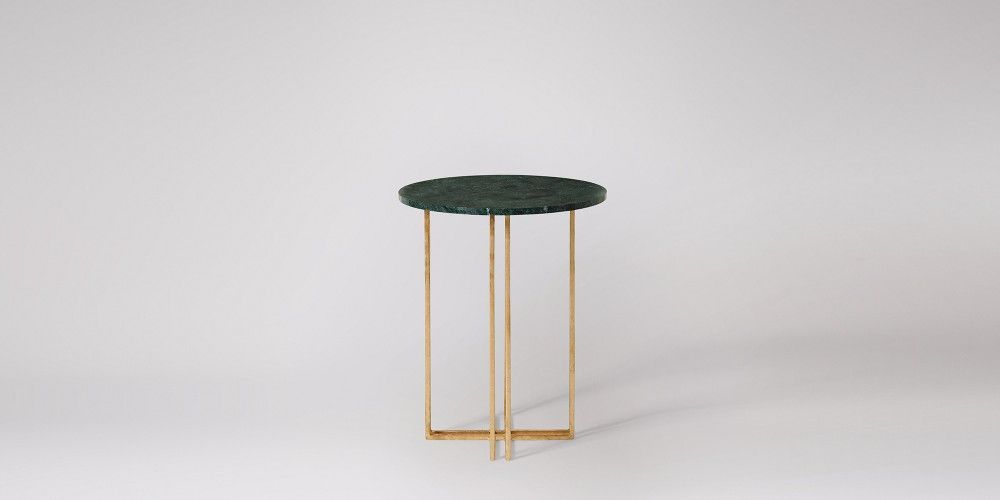Praia Green Marble Side Table Swoon Editions 195 Side Table Marble Side Tables Furniture Side Tables