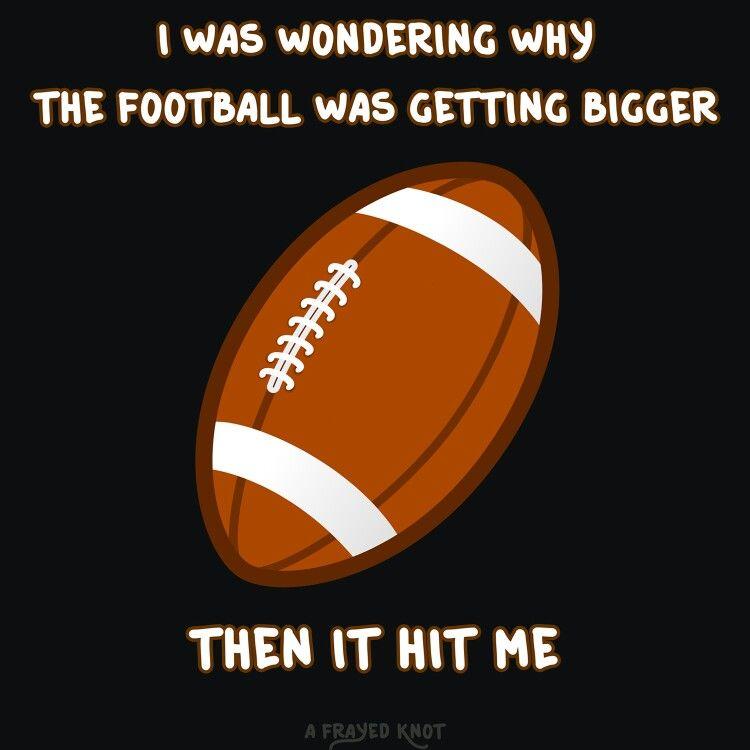 Football sexual puns