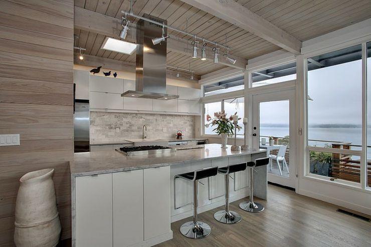 Jolie maison moderne à la décoration éclectique