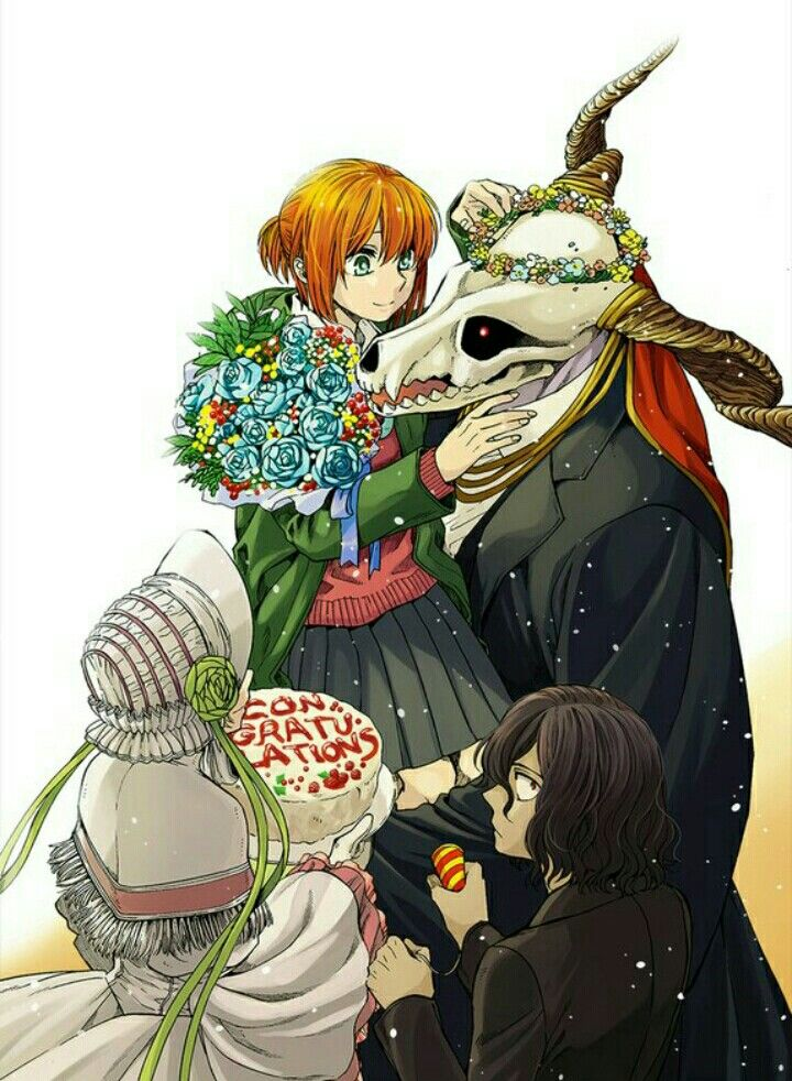 The Ancient Magus Bride Anime : ancient, magus, bride, anime, Невеста, чародея, Ancient, Magus, Bride,, Anime,, Manga