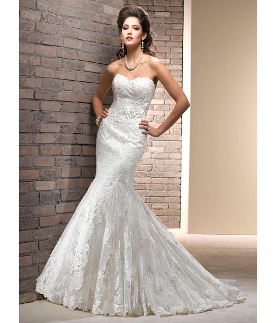 Unique Wedding Dresses Au: Charisse Ivory Tulle & Lace