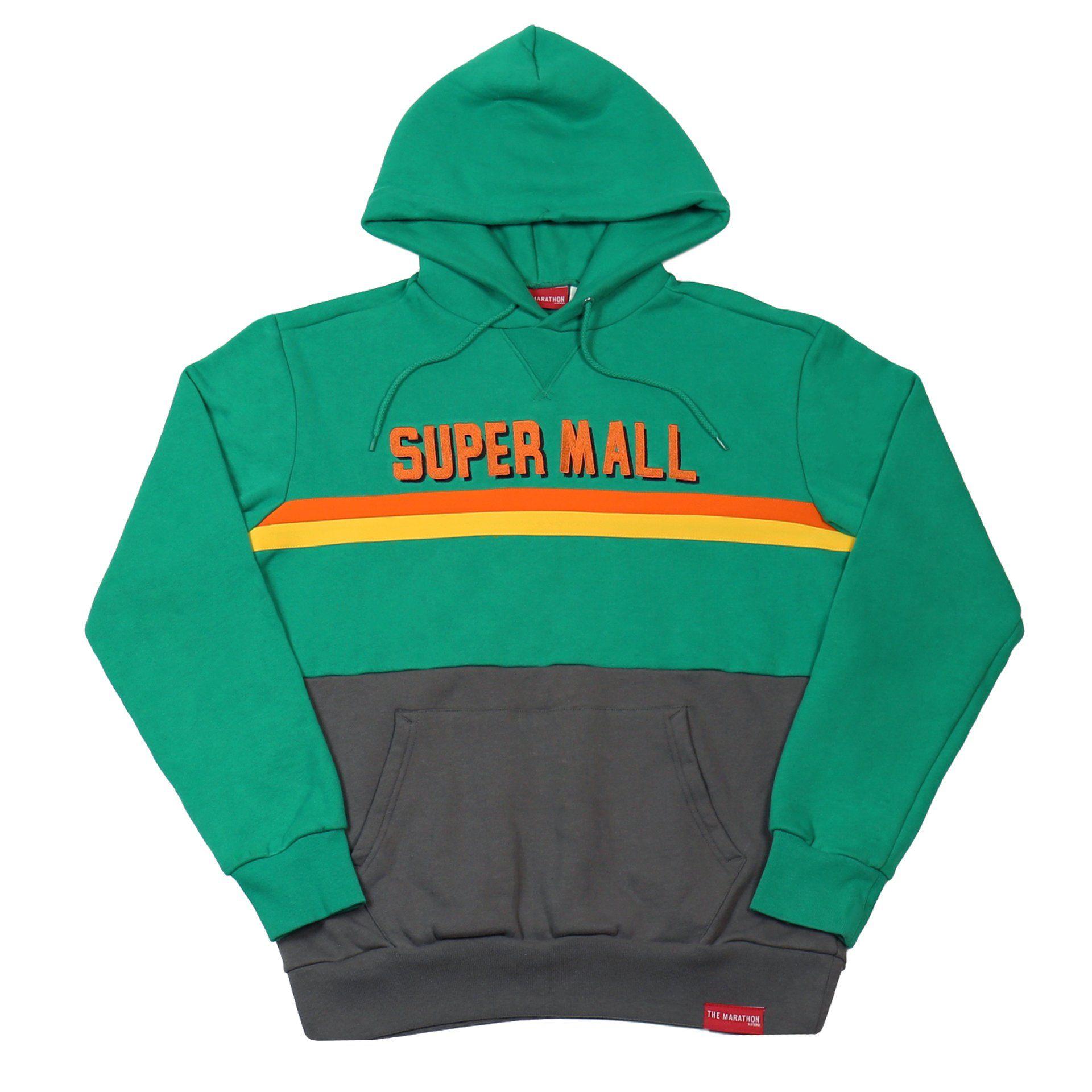 376c14069 Super Mall Hoodie - Green – The Marathon Clothing | streetwear ...