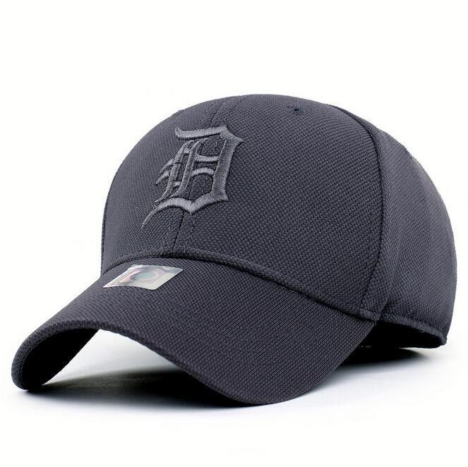 d6c6dca499d Detroit Tigers Unadjustable Cotton Elastic Fitted Baseball cap hat ...