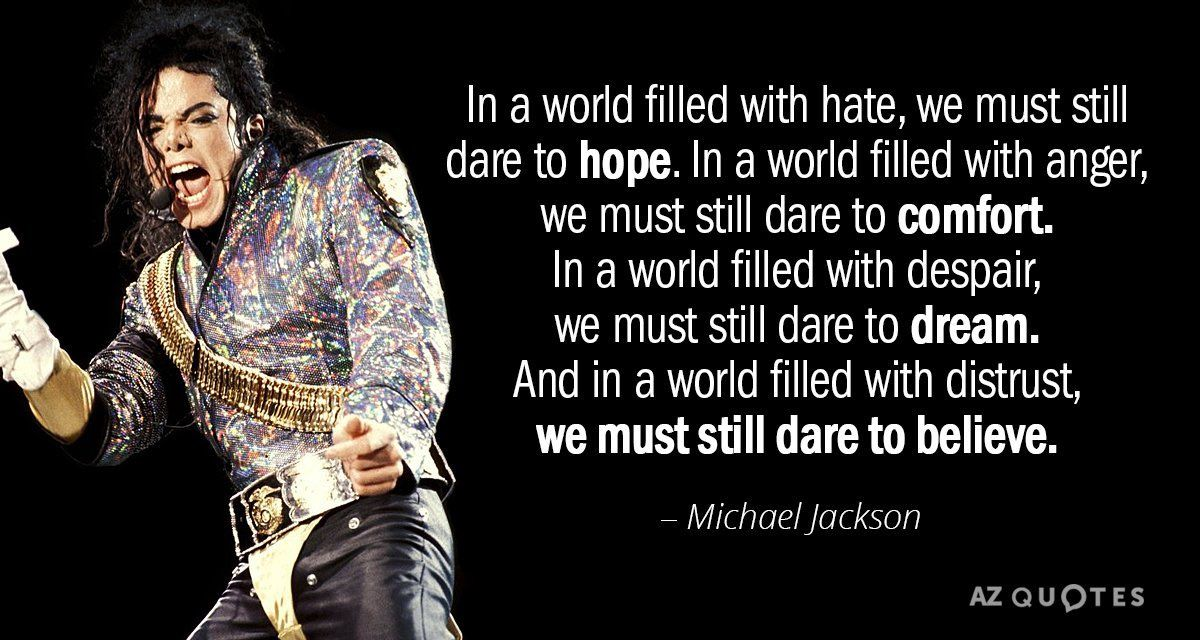 Twitter Michael jackson quotes, Good life quotes