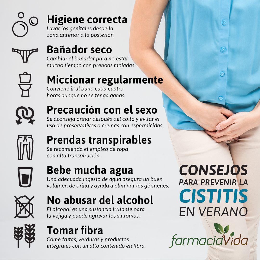 👙 El riesgo de sufrir #cistitis o infección de orina es más común ...