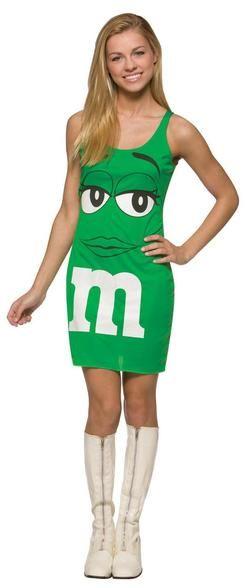 Mm\u0027s Green Tank Dress 13-16 Products - green dress halloween costume ideas
