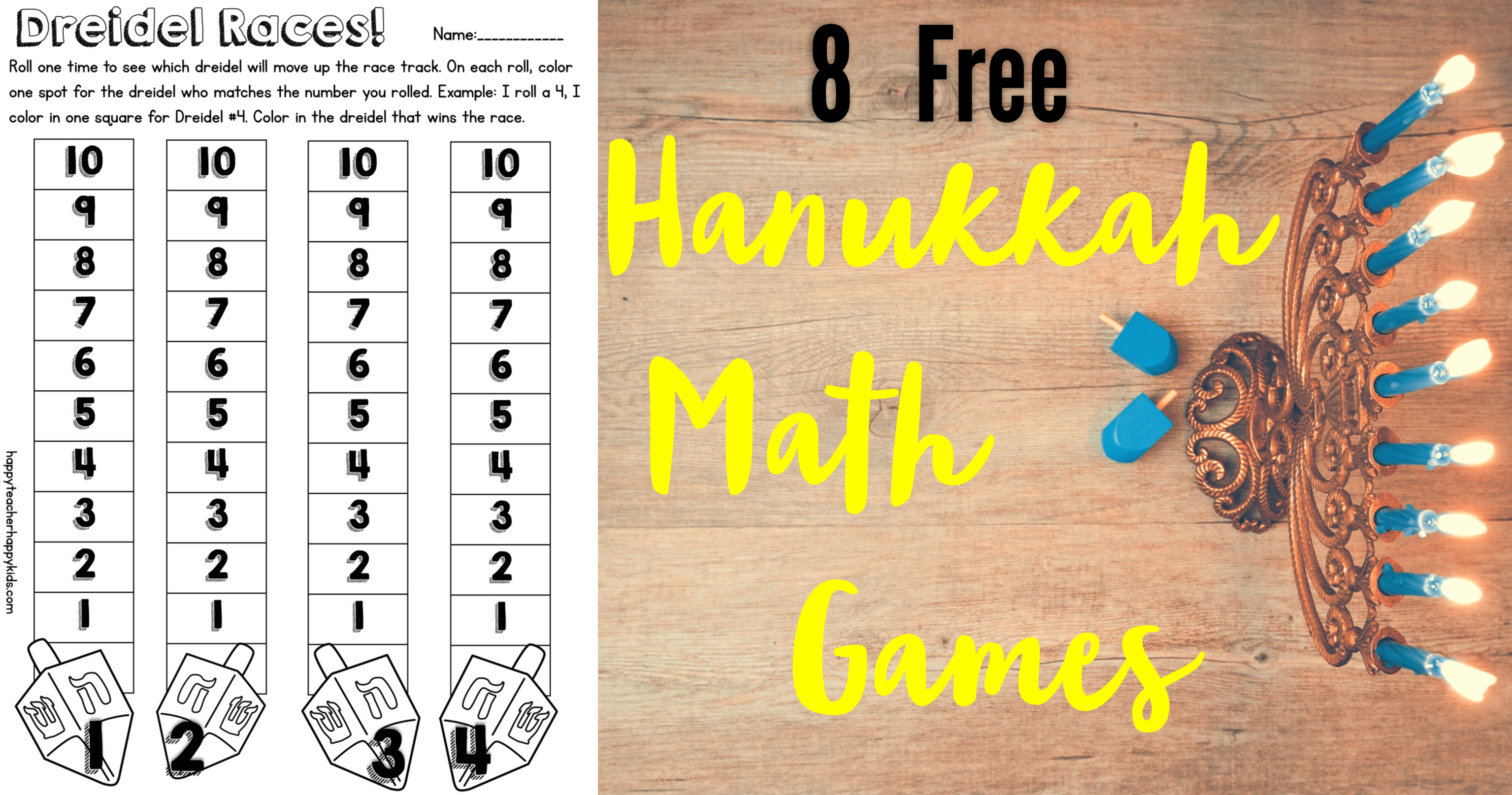Free Hanukkah Resources For Kindergarten Free Hanukkah