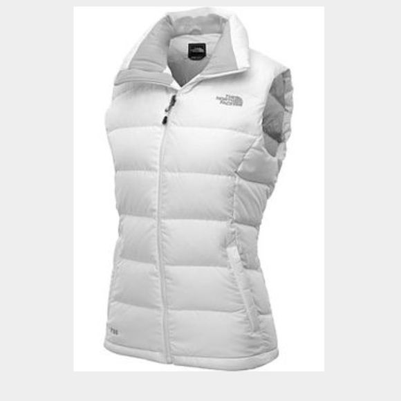 ed9390e284e4 Girl white north vase vest Please note this is a girl (not ladies ...