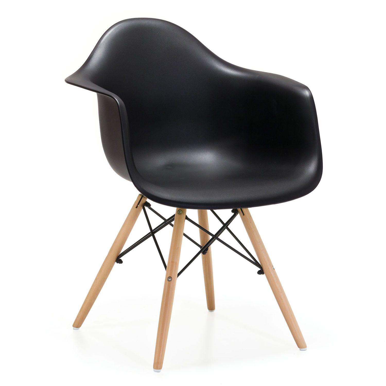 Chaise WOODEN ARMS Color Edition Mobilier de salon