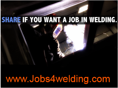 Share if you want welding Jobs Apply to 1266 Welder jobs on jobs4welding. ... New Welder jobs added daily. ... for a Structural Shop Welder on a full time basis located at our site