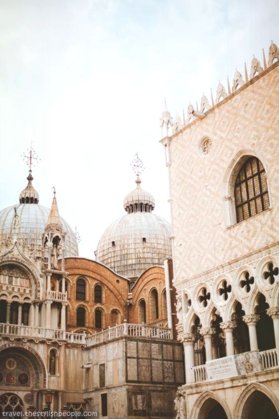 Photo of Beautiful Stone structure of Venice, Italy
