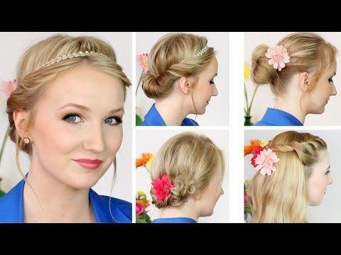 Süße Frühlings Sommer Frisuren Für Mittellange Haare Haare