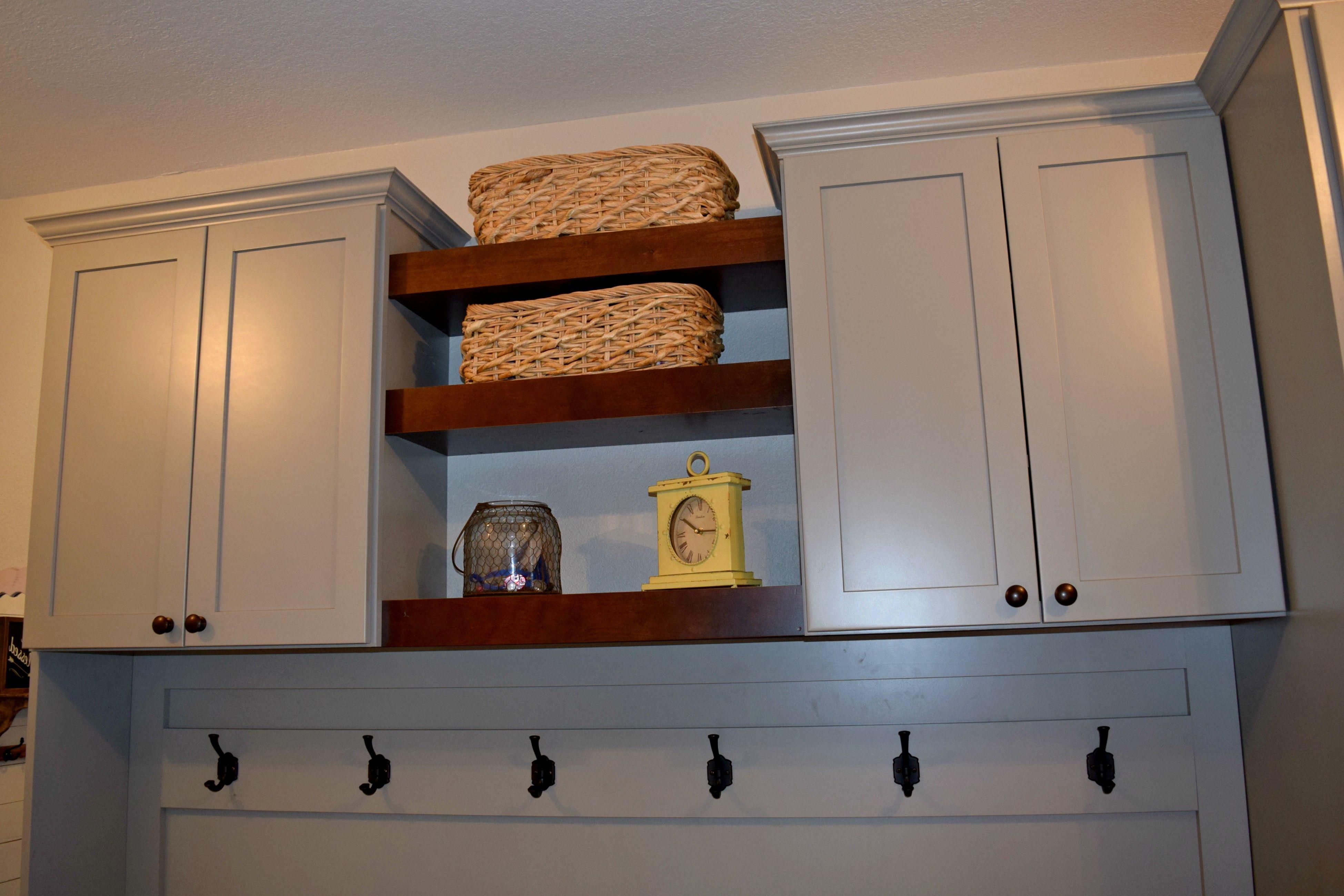 BKC Kitchen and Bath Denver laundry room cabinets Medallion