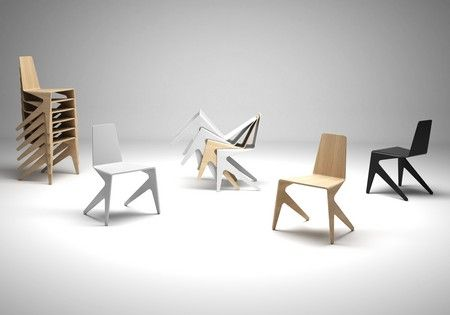 Chaise Design Empilable