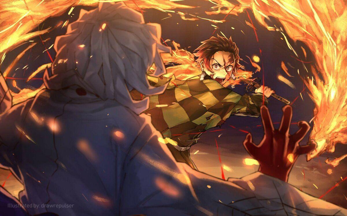 خلفيات أنيمي Anime تانجيرو Tanjiro ياباني 29 Anime Best Anime On Netflix Anime Demon