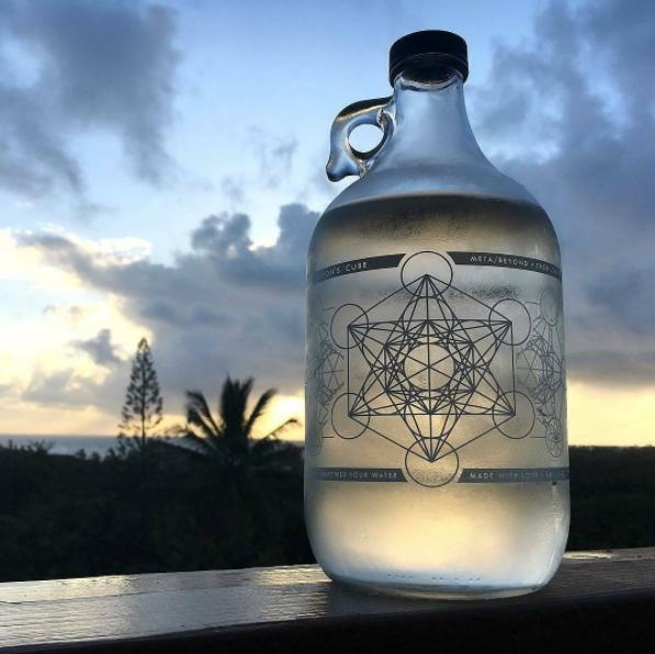 fccf921fa7 Metatron's cube jug 64 oz in 2019 | ~* Vision Board *~ | Glass water ...