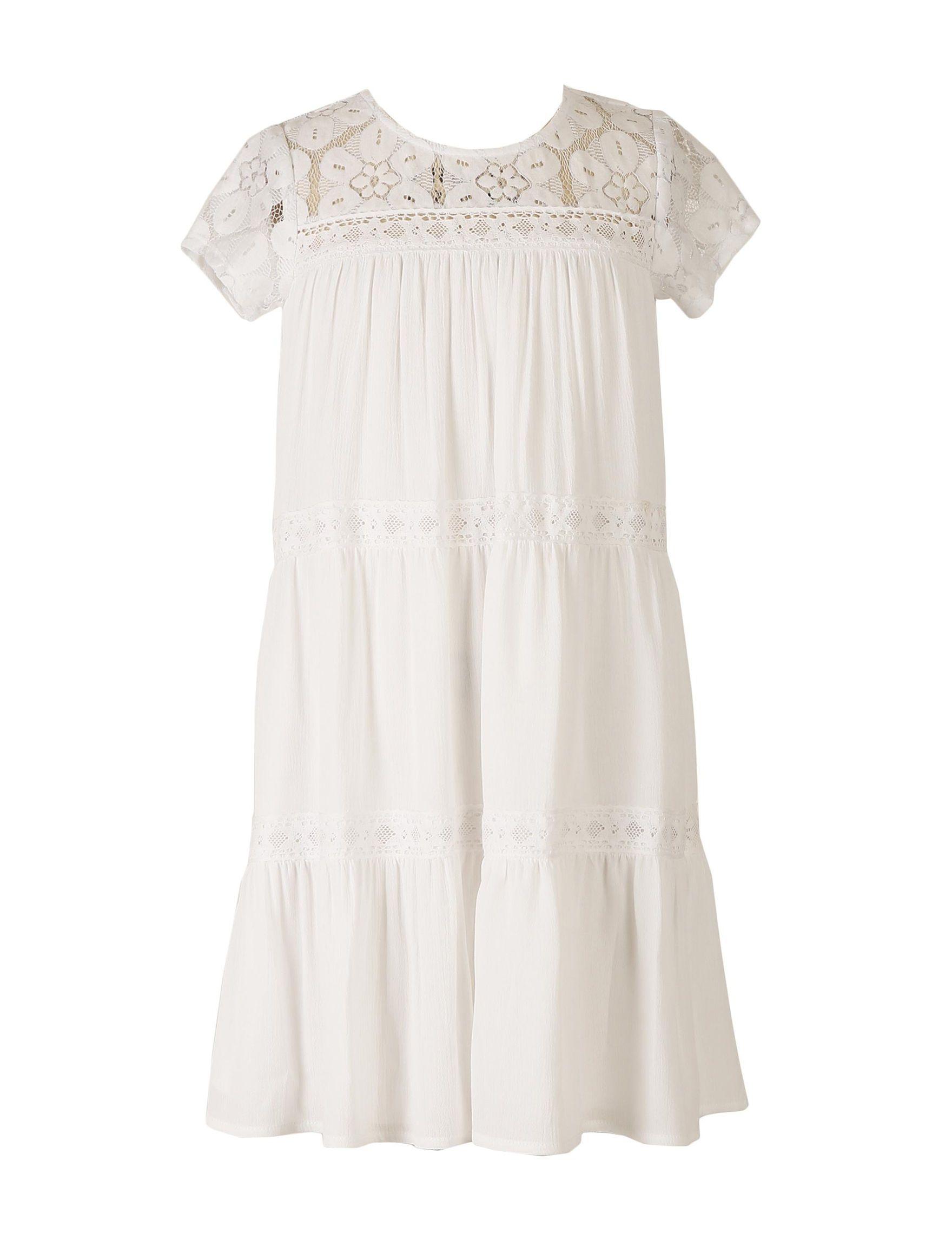 Tiered Gauze Dresses