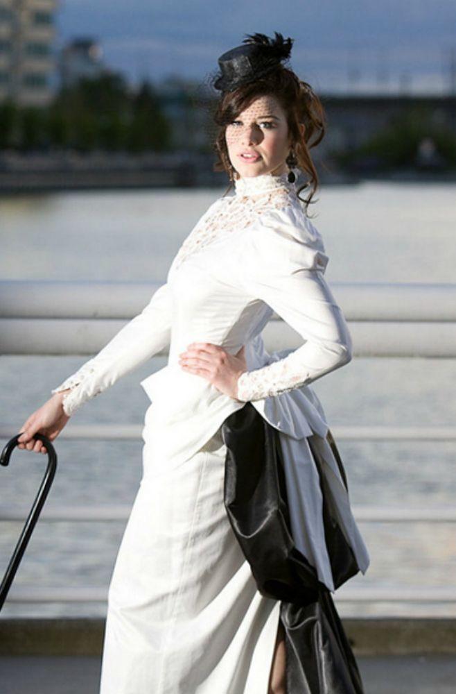 Victorian Steampunk Wedding dress