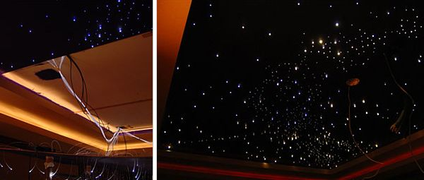 DIY star ceiling