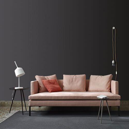 Canapé contemporain / en cuir / en aluminium / par Didier Gomez ...