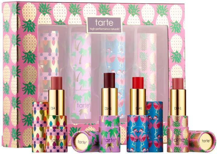 6442a87639f Tarte - Quench Squad Hydrating Mini Lip Set - Rainforest of the Sea  Collection