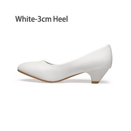 High Heels Pumps Pointed toe   White