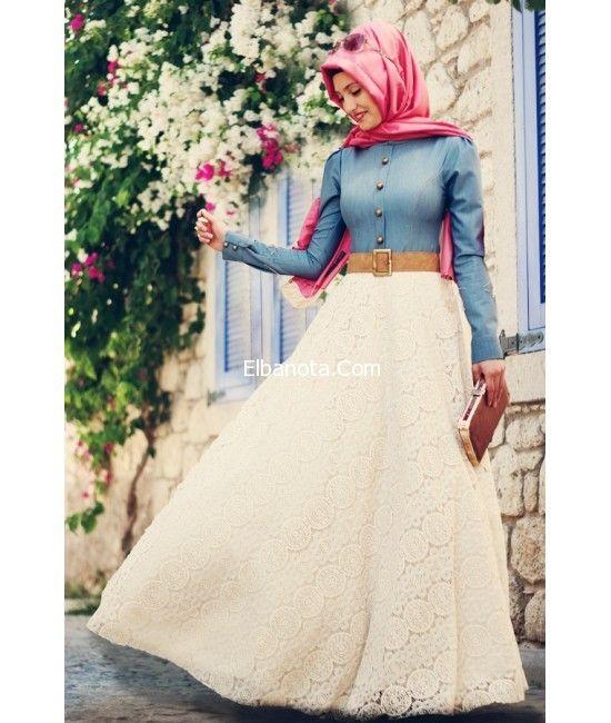 ازياء على الموضة للمحجبات ملابس محجبات تركية صور ازياء محجبات ستايل موضة بنوته أزياء بنوته بنوته كافيه Islamic Modest Fashion Dresses Hijab Dress