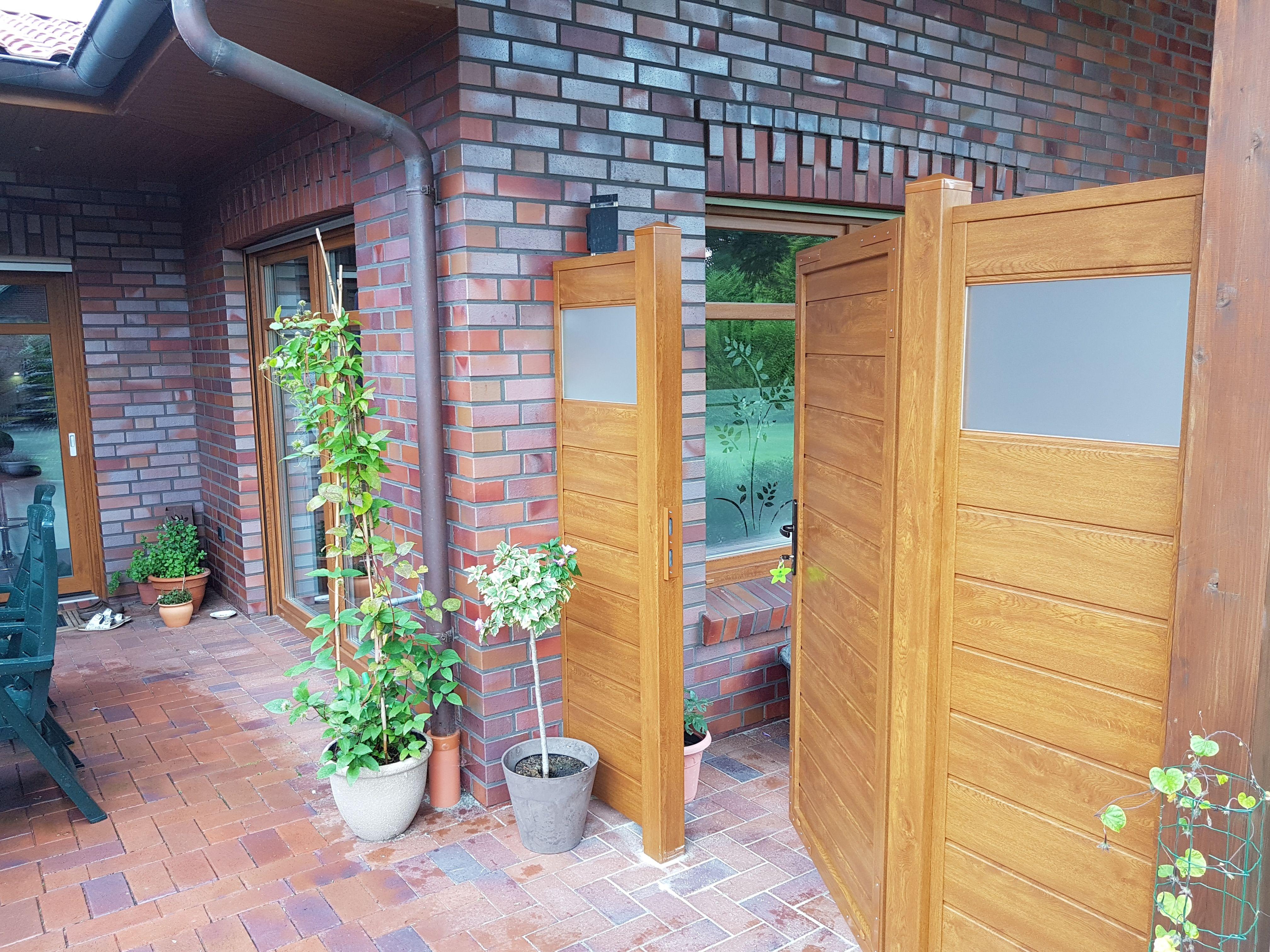 Sichtschutzzaun Bausatz Zum Selber Bauen Aus Fensterkunststoff In
