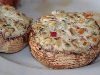 Photo of Grillbeilagen – Champignons mit Frischkäse – grill-guru.de