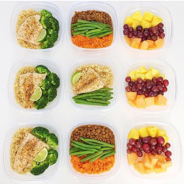 The best meal prep containers for clean eating red for Fish and broccoli diet