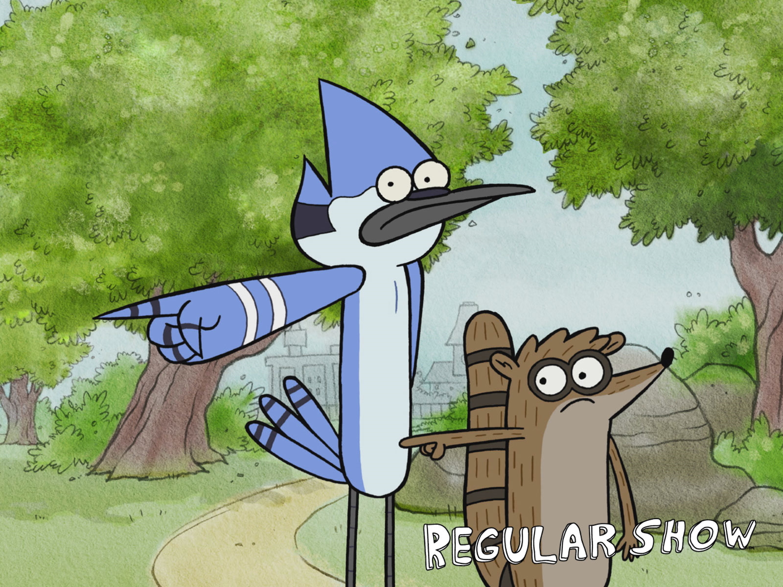 Wallpaper Regular Show Episode The Power Rigby Cartoon Shows Network