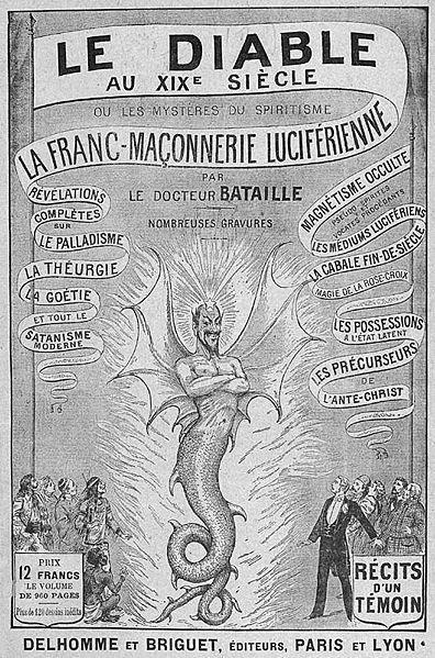 Le Diable Au Xixe Siecle Ecrit Sous Le Pseudonyme Collectif De Dr Bataille En Collaboration Avec Charles Hacks Franc Maconnerie Le Maitre Et Marguerite Diable