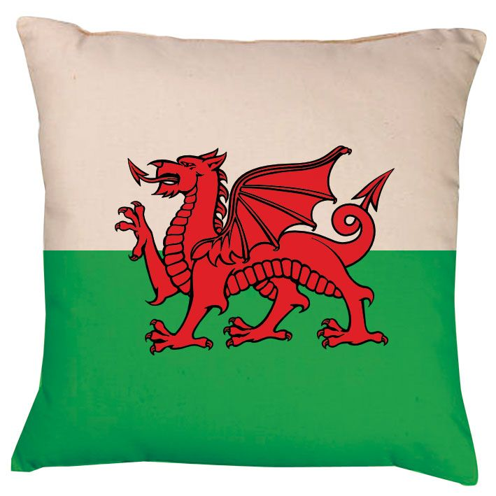 Wales Christmas Traditions Traditional Union Jack Crest Cushion 19 99 Welsh Flag Wales