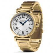 Coach :: MADISON GOLD PLATED BRACELET WATCH
