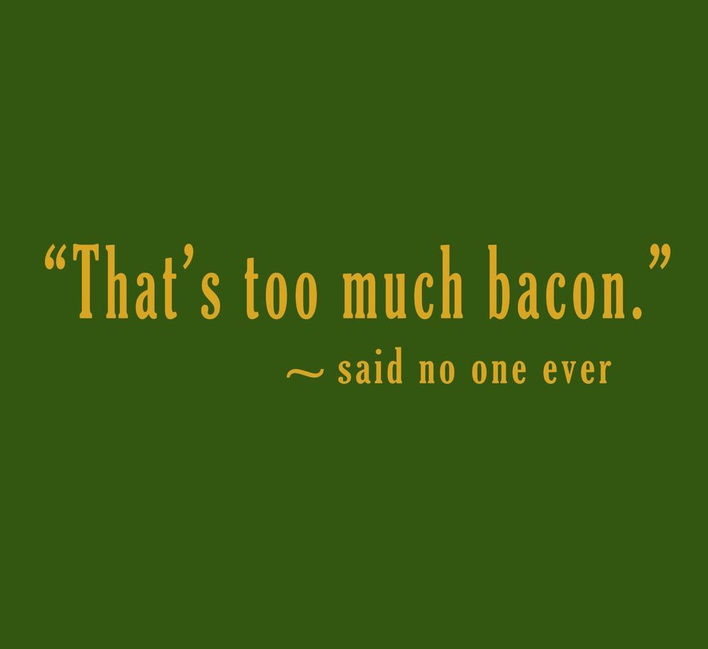 old hairy dude bacon poem